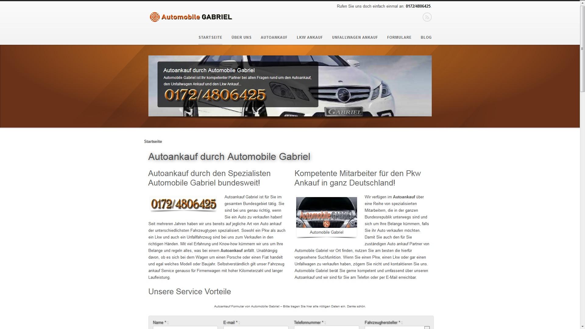 Autoankauf in Landshut: Automobile Gabriel