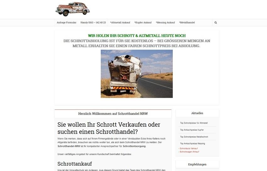 Schrotthandel in Duisburg kümmert sich um ihre Schätze