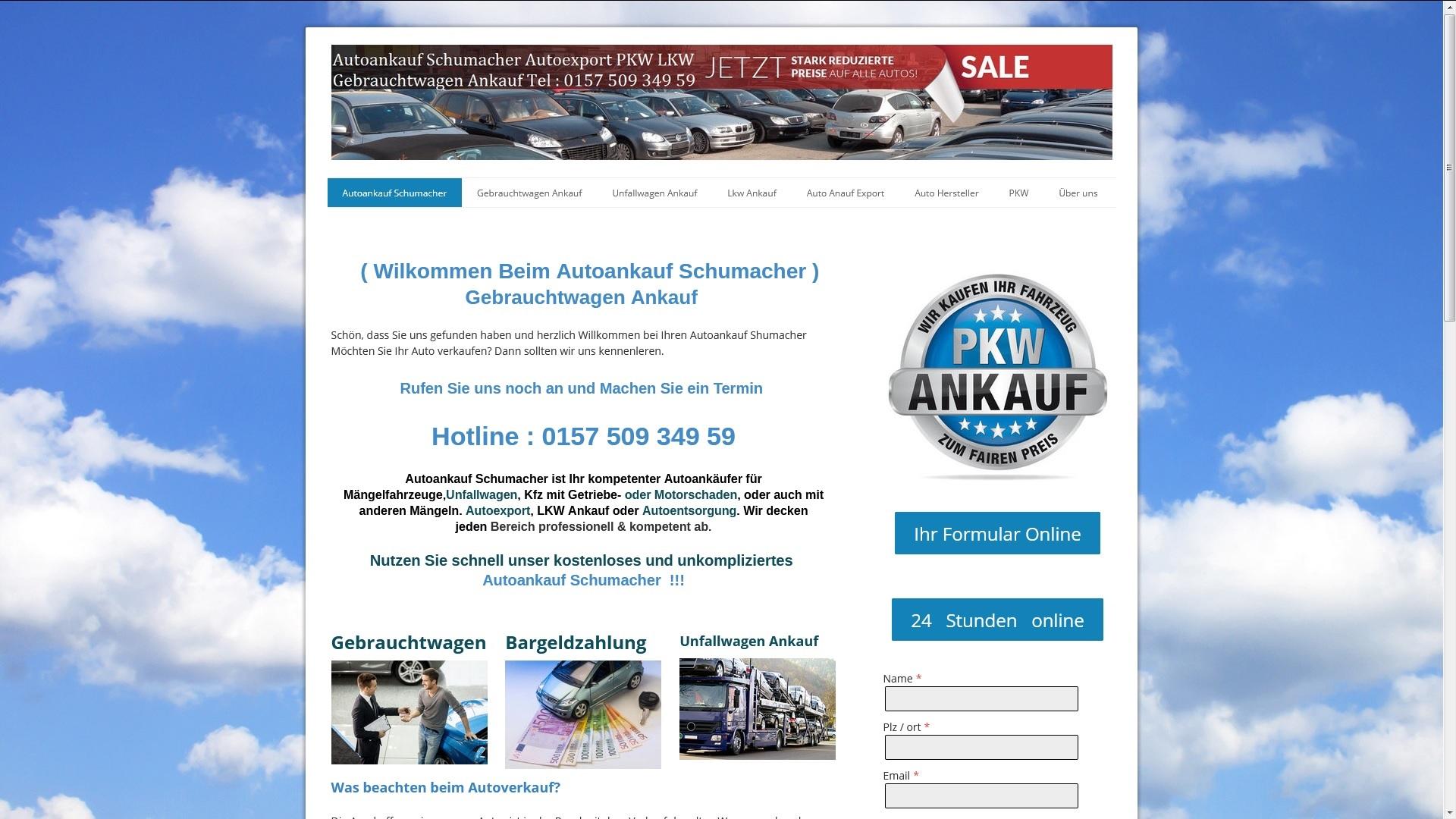 https://www.autoankauf-schumacher.de - Autoankauf Görlitz